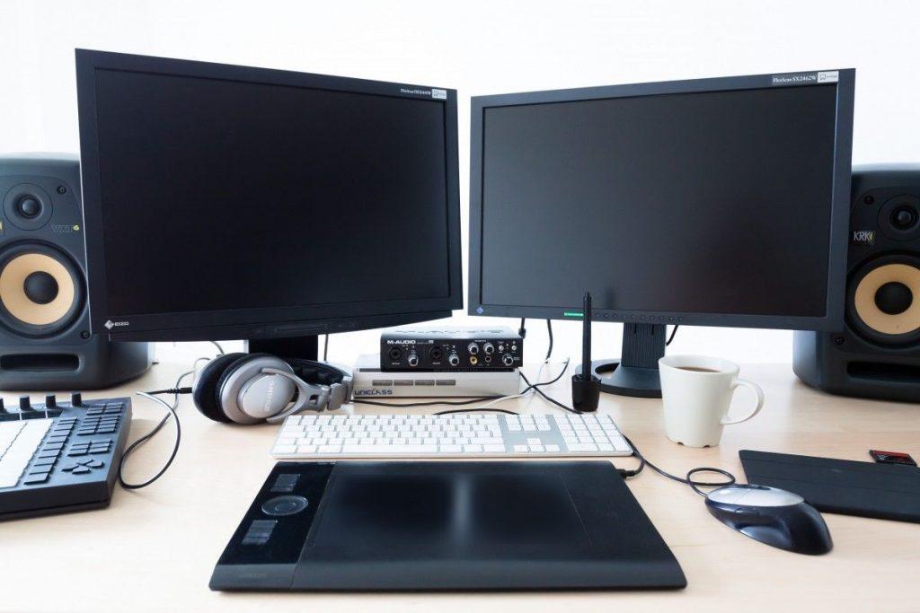 monitor do komputera